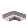 Ubbink binnenhoek voor bakgoot, polyester, 205 mm, grijs