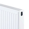 Thermrad Compact-4 plus radiator, type 21, hoogte 400 mm, lengte 2200 mm, afg. 75/65/20 - 2209 W