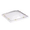 Skylux acrylaat lichtkoepel, 1-wandig, helder, 75 x 75 cm