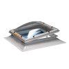 Skylux polyester opstand incl. lichtkoepel, dubbelwandig, spindel en ventilatieraam, 50 x 50 cm
