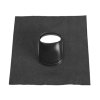 Ubbink dakdoorvoerpan, Ubiflex, 166 mm, universeel, zwart, dakhelling 25 - 45°, 500 x 600 mm