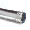 Aluminium rookgasafvoerpijp, mof x spie, Ø = 80 mm, l = 500 mm