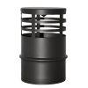 Dinak SW pellets black, horizontale deflector, type 151, 80 mm