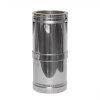 Dinak DW, inkortbare rookgasafvoerbuis, type 235, 300 mm, l = 250 - 380 mm