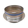 Dinak DW, rookgasafvoer ketelaansluiting, voor condensatie, type 1C0, 80 mm