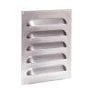 Aluminium ventilatierooster, 250 x 300 mm