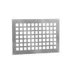 Nedco aluminium ventilatieplaat, 250 x 200 mm