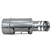 Dinak Diflux pellets, horizontale verstelbare eindstuk, type 011, 130/200 mm, l = 570 - 800 mm