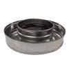 Dinak Diflux pellets, rookgasafvoer inspectiekap, type 060, 130/200 mm