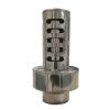 Dinak Diflux pellets, rookgasafvoer verticaal eindstuk, type 10R, 80/125 mm, l = 400 mm