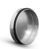 Spiraliet eindkap, met epdm ring, voor buis, 160 mm