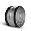Spiraliet verbindingsstuk, met epdm ring, 2x verjongd spie, 315 mm