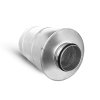 Spiraliet geluiddemper met 50 mm glaswol, 200 mm, l = 500 mm