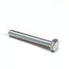 Stalen tapbout, elektrolytisch verzinkt, DIN 933, kwaliteit 8.8, M16 x 60 mm