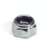 Borgmoer met nylon ring, staal, elektrolytisch verzinkt, DIN 985/6-8, M8