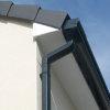Nicoll Ovation Dachrinne, PVC, anthrazit, RAL7016, 125mm, L=4m