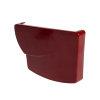 Nicoll Ovation eindstuk, pvc, rechts, voor goot, rood, RAL 3004, 170 mm  detailimage_001 100x100