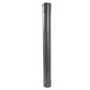 Nicoll hwa traditioneel ondereind, pvc, recht, antraciet, RAL 7016, 100 mm, l = 1 m