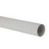 Nicoll Fallrohr, PVC, hellgrau, RAL7047, 50mm, L=4m