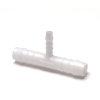 Normaplast verloop T-stuk 90°, 3x slangtule, 6 x 4 x 6 mm