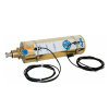 """RIV dubbelwerkende pneumatische cilinder, messing, type 161, 6"""", met positiesensoren"""