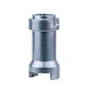 """RIV aluminium stangverlenging met schroef, type 9070, ¼"""" - 3/8"""" - ½"""" ¼"""" - 3/8"""""""