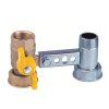"""RIV beugel voor gasmeter, type 7600, 2x bi.dr., standaard doorlaat, ¾"""" x 1¼"""" x ¾"""" x 1¼"""""""
