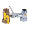 """RIV beugel voor gasmeter, type 7621, 2x bi.dr., standaard doorlaat, ¾"""" x 1¼"""" x 1"""" x 1¼"""""""