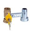 """RIV beugel voor gasmeter, type 7660, 2x bi.dr., standaard doorlaat, 1"""" x 1¼"""" (DN22) x 1"""" x 1¼"""""""
