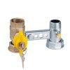 """RIV beugel voor gasmeter, type 7661, 2x bi.dr., standaard doorlaat, ¾"""" x 1¼"""" x 1"""" x 1¼"""""""