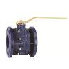 RIV gietijzeren kogelafsluiter, type 7350, 2x flens, volle doorlaat, 125 mm