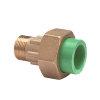 """Kryoclim 3-delige koppeling, hpf/messing, inwendig lijm x buitendraad, 25 mm x ¾"""""""