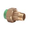 """Kryoclim 3-delige koppeling, hpf/messing, inwendig lijm x buitendraad, 25 mm x ¾""""  detailimage_001 100x100"""