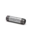 """Gegalv. pijpnippel, ½"""", nr. 23, 2x buitendraad, l = 40 mm"""