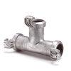 Humet T-stuk 90°, aluminium, 50 mm