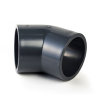 VDL pvc knie 45°, 2x inwendig lijm, 16 bar, 125 mm