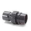 """VDL pvc 3-delige koppeling, 2x inwendig lijm, 16 bar, 40 mm x 1½"""" x 40 mm"""
