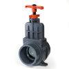 VDL PVC-Absperrschieber mit Schneidkante, 2x Innenverklebung, 110mm