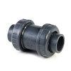 VDL pvc terugslagklep, PN 16, 2x inwendig lijm/2x wartel en rvs veer S4, 32 mm