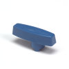VDL pvc handgreep voor kogelkraan, blauw, 63 mm
