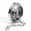 Storz aluminium afsluitkap met ketting, 31 mm