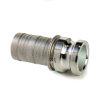 Camlock rvs 316 gegoten, M-deel met slangtule, type E, 50 mm