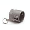 "Camlock V-Teil mit Innengewinde, Aluminium, ModellD, 63 mmx 2½"""
