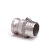 "Camlock M-deel met buitendraad, aluminium, type F, 25 mm x 1"""