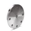 Stalen blindflens, ND 16, diameter 100 mm