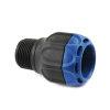 "Isiflo Sprint pe overgangskoppeling, Kiwa, type 110, klem x buitendraad, 32 mm x R 1"" buitendraad"