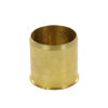 Isiflo steunhuls, messing, voor pe buis, 8 bar, Kiwa/GASTEC QA, 25 x 2,0 mm