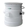 Homa vuilwater opvoerinstallatie met bovengrondse verzamelschacht, Saniquick B - CR 360 VWA, 230 V