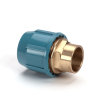 Unifit soldeerkoppeling, klem x inwendig capillair, 10 bar, 25 x 22 mm