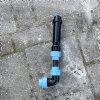Unidelta knie 90°, Kiwa, 16 bar, 2x klem, 25 mm